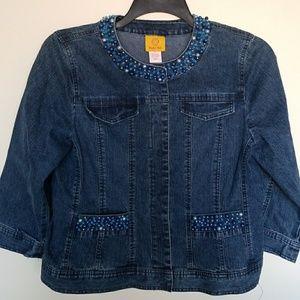Ruby Road denim jacket